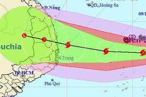 Quảng Nam - Quảng Ngãi: Lên phương án chuẩn bị ứng phó bão số 6