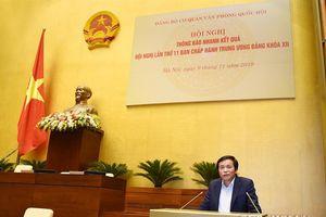 Thông báo nhanh kết quả Hội nghị lần thứ 11 Ban chấp hành Trung ương Đảng khóa xii