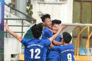 THPT Tân Lập vào tứ kết sau trận đấu nghẹt thở trước THPT Hà Thành