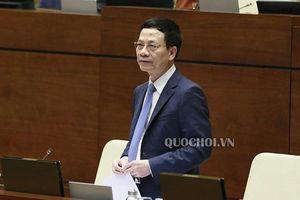 Bộ trưởng Nguyễn Mạnh Hùng chia sẻ về mục tiêu kép trong phát triển Chính phủ điện tử, kinh tế số
