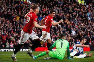 Thi đấu thăng hoa, Man. United thắng dễ Brighton trên sân nhà