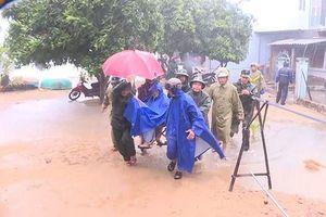 Các tỉnh miền trung sơ tán dân để ứng phó bão số 6