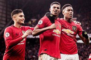 Man United thắng thuyết phục Brighton 3-1