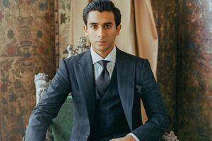 Hú hồn bởi vẻ đẹp trai như tài tử của vị vua trẻ nhất Ấn Độ