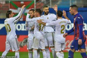 Benzema chói sáng, Real Madrid đại thắng '4 sao'