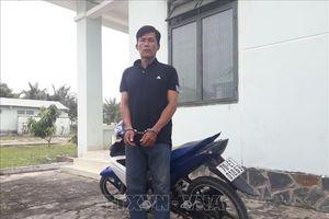 Bắt đối tượng trộm xe mô tô chuẩn bị mang sang Campuchia tiêu thụ