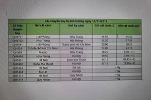Thêm hãng Bamboo Airways điều chỉnh lịch bay vì bão Nakri đổ bộ miền Trung