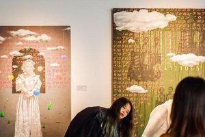 Ngắm nhìn các tác phẩm mỹ thuật của các nghệ sĩ tiêu biểu châu Á tại Hà Nội