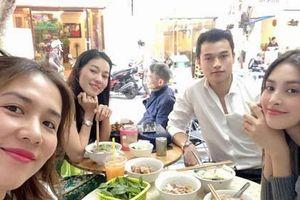 Hoa hậu Tiểu Vy phủ nhận tin đồn hẹn hò với thiếu gia