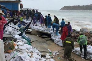 Bình Định: Khẩn trương di dời dân khỏi các vùng nguy hiểm