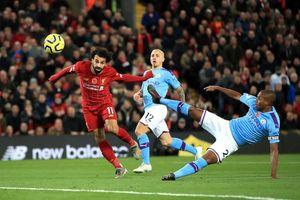 Man City rơi xuống thứ 4, kém ngôi đầu 9 điểm sau trận thua Liverpool