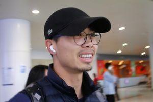 Công Phượng, Văn Hậu cùng đi ăn phở sau khi về Việt Nam