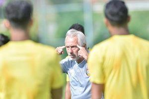 Cầu thủ UAE bị bắt tập nặng trước trận gặp tuyển Việt Nam
