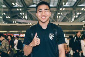 Chanathip hội quân cùng Thái Lan trước giờ bay sang Malaysia