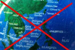 Địa cầu có đường lưỡi bò được bán tràn lan trên mạng ở Việt Nam