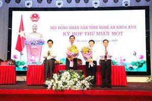 Nghệ An: Có 2 tân Phó Chủ tịch UBND tỉnh