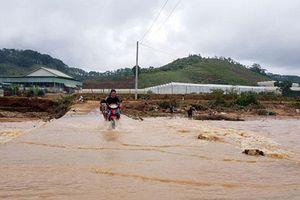Một người bị lũ cuốn mất tích tại Lâm Đồng