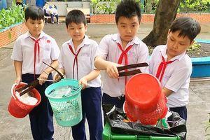 650 học sinh tìm hiểu về sản phẩm tái chế