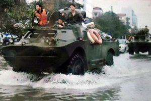 Xe thiếp giáp Việt Nam dùng ứng cứu bão số 6 có gì đặc biệt?