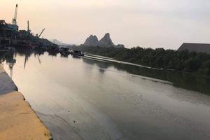 Cty Xi măng Chinfon Hải Phòng bục đường ống, dầu thải bức tử môi trường