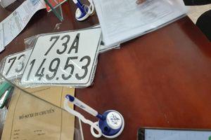 Tranh cãi biển số xe 73A–149.53 ở Quảng Bình