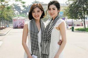 Lương Thanh 'Hoa hồng trên ngực trái' đọ sắc với á hậu Tú Anh trong sắc trắng
