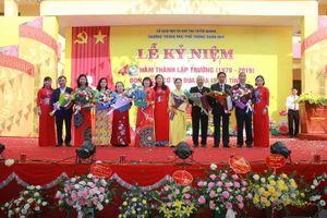 Tuyên Quang: Trường THPT Xuân Huy kỷ niệm 40 năm ngày thành lập trường