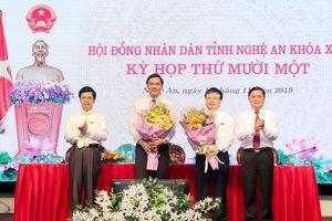 Nghệ An bầu bổ sung hai Phó Chủ tịch tỉnh
