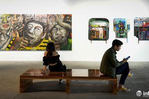 Chiêm ngưỡng tác phẩm mỹ thuật của các nghệ sĩ tiêu biểu châu Á tại Hà Nội