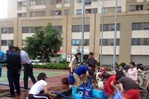 Đề nghị làm rõ việc mất nước nhiều lần ở KĐT Tân Tây Đô