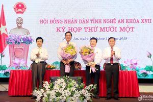 Nghệ An bầu 2 Phó Chủ tịch Ủy ban nhân dân tỉnh