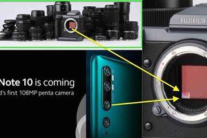 Fujifilm 'vừa đấm vừa xoa' Xiaomi: 108MP khủng nhưng 'vô hình' với máy ảnh chuyên nghiệp