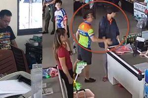 Trưởng Công an TP Thái Nguyên nói về người ném xúc xích và đánh nhân viên
