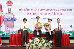 Bầu bổ sung hai Phó Chủ tịch UBND tỉnh Nghệ An