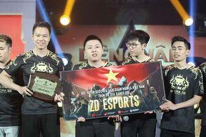 Đội eSport Việt Nam dự SEA Games 30 thắng trận đầu giải thế giới