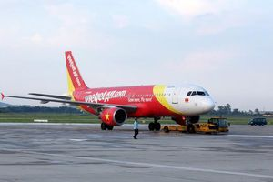 Ảnh hưởng của bão số 6, Vietjet điều chỉnh lịch khai thác các chuyến bay