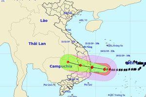Bão số 6 suy yếu thành ấp thấp nhiệt đới, Miền Trung mưa lớn nguy cơ gây lũ quét sạt lở