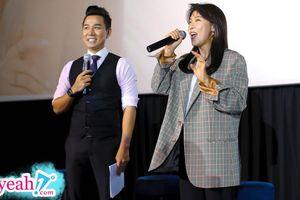 MC Nguyên Khang hạnh phúc khi được dẫn dắt fanmeeting của Ha Ji Won tại Việt Nam