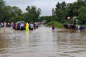 Áp thấp nhiệt đới có khả năng tiếp tục gây ảnh hưởng đến Nam Trung Bộ