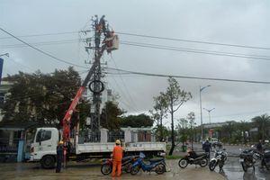 PC Bình Định: Cấp điện lại cho 100% khách hàng bị ảnh hưởng do bão số 6