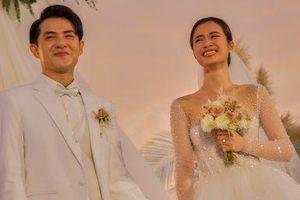 'Giải mã' chiếc khăn voan 5 mét của cô dâu Đông Nhi được NTK Chung Thanh Phong làm riêng