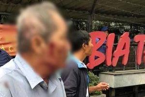 Hà Nội: Cụ ông 80 tuổi bị người đàn ông chạy xe ôm hành hung vì 'tranh giành địa bàn'