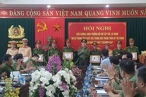 Công an Nam Định khen thưởng 6 tập thể, 26 cá nhân có thành tích xuất sắc