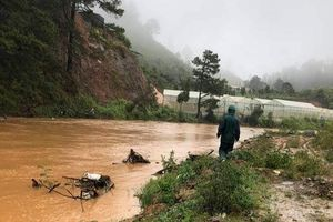 Lâm Đồng: Một người đàn ông bị nước cuốn mất tích
