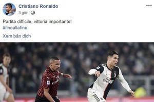 Ronaldo lên tiếng sau 2 trận liền bị thay ra sớm