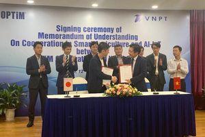 Hợp tác với Nhật Bản triển khai giải pháp nông nghiệp thông minh