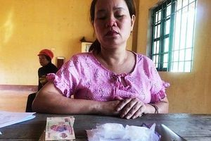 Bắt người phụ nữ cầm cố ô tô lấy tiền buôn bán ma túy
