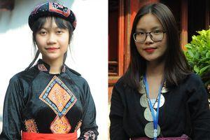 Gặp hai nữ sinh xứ Tuyên xinh xắn, học giỏi