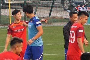 Công Phượng, Quang Hải hứng khởi với bài tập lạ của HLV Park