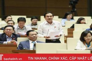 Đại biểu Quốc hội Hà Tĩnh góp ý, thảo luận về dự án Luật Tổ chức Quốc hội